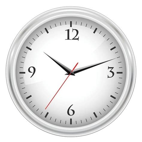 horloge de bureau blanc t 233 l 233 charger des vecteurs gratuitement
