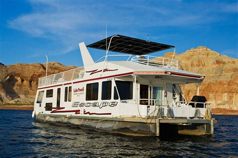 Lake Powell Private Boat Tours by Escape Luxury Houseboat Rental Lake Powell Resorts