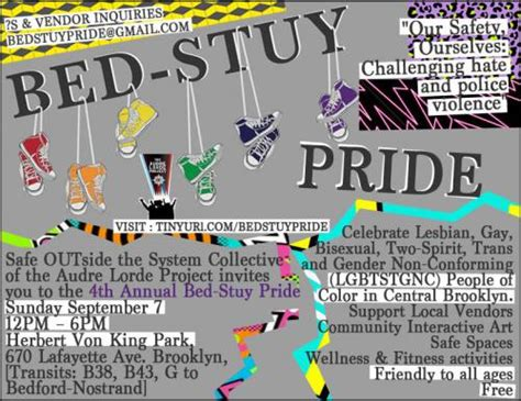 bed stuy pride the audre lorde project