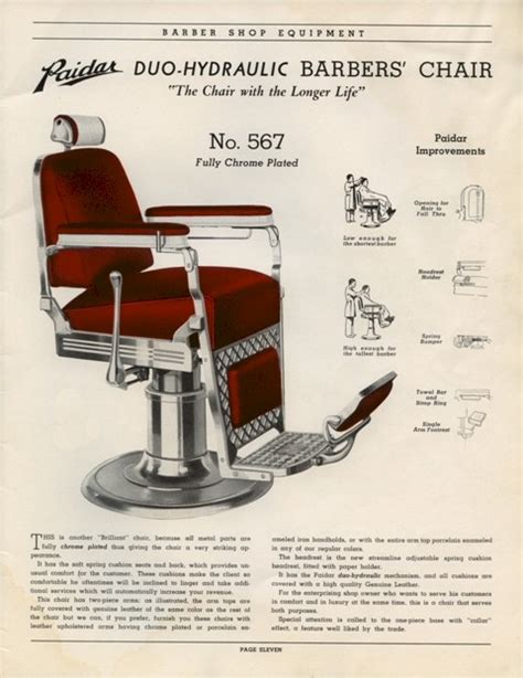 paidar barber shop equipment catalog no 49 on cd barber chairs poles more ebay