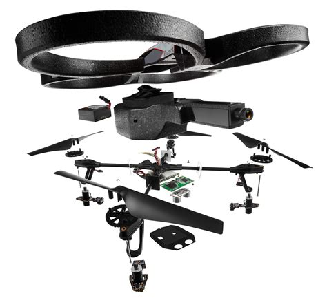 ar drone drone quadricopter parrot wifi spare parts