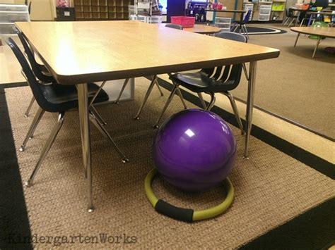 getting rid of my desk alternative seating bonus kindergartenworks