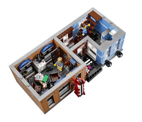 lego 10246 le bureau du d 233 tective briqueo