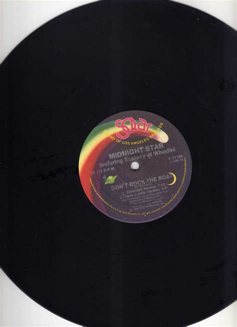 Don T Rock The Boat Midnight Star by Http Collectionvinylwasdj Midnight Star