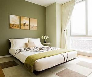 Feng Shui Wandfarben : 55 ideen f r gr ne wandgestaltung im schlafzimmer ~ Markanthonyermac.com Haus und Dekorationen