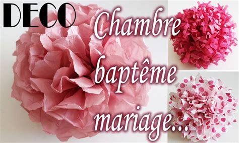 tuto d 233 co clair fleur papier soie chambre bapt 234 me mariage etc