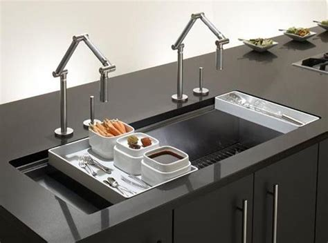 modern kitchen sink materials and design ideas