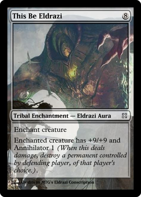 alternate rise eldrazi spells magic the gathering fan