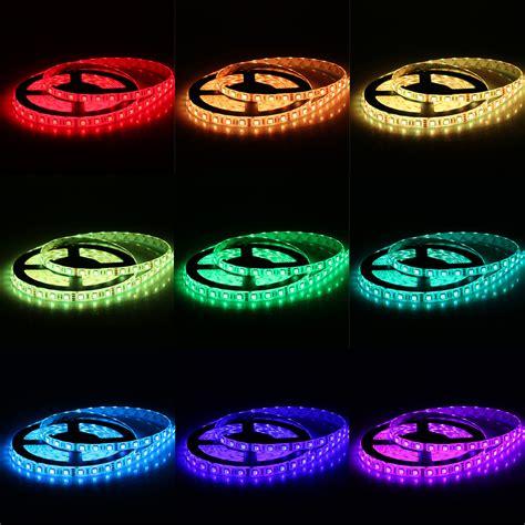 5m Smd5050 300leds Led Rgb Color Change Strip Light Kit