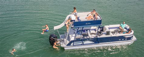 Best Pontoon Party Boats by Ambassador Funship Pontoon Boat Avalon Pontoon Boats