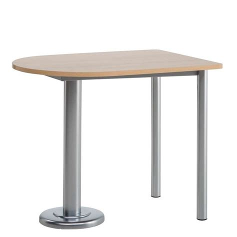 table snack de cuisine oblong en stratifi 233 110 x 80 luros 4 pieds tables chaises et tabourets