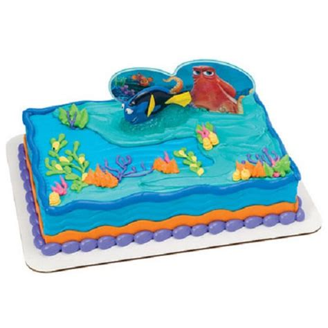 finding dory cake topper fintastic adventures cake decoration