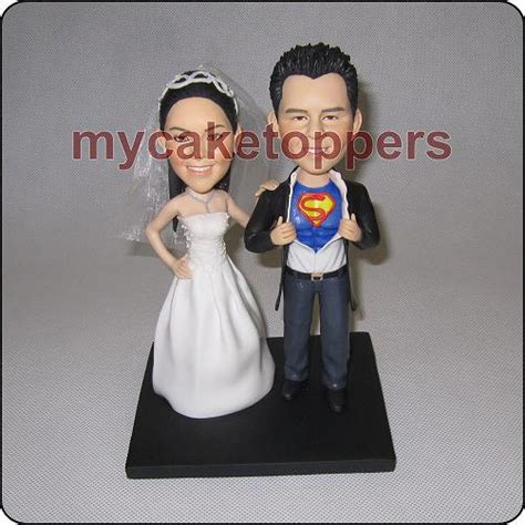 custom cake toppers and groom custom wedding cake topper form your photo