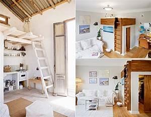 Teenager Zimmer Kleiner Raum : die kleine wohnung einrichten mit hochhbett freshouse ~ Markanthonyermac.com Haus und Dekorationen