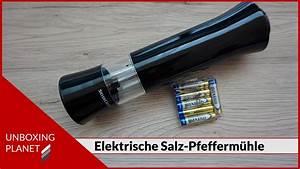 Stelton Salz Und Pfeffermühle : elektrische salz und pfefferm hle unboxing planet youtube ~ Markanthonyermac.com Haus und Dekorationen