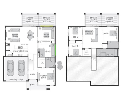 fresh split floor house plans the horizon split level floor plan by mcdonald jones