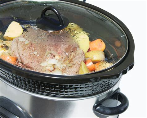 cooker crock pot roast beef and vegetables recipe the wilderness