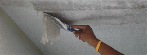 how do i remove popcorn ceiling texture dukes painting