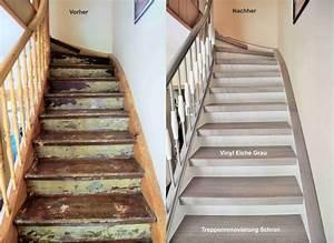 Treppen Streichen Ideen : die besten 25 treppe renovieren ideen auf pinterest treppen wei e treppe und haus renovieren ~ Markanthonyermac.com Haus und Dekorationen