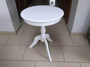 Beistelltisch Landhausstil Weiß : runder beistelltisch im landhausstil wei durchmesser 50 cm ~ Markanthonyermac.com Haus und Dekorationen