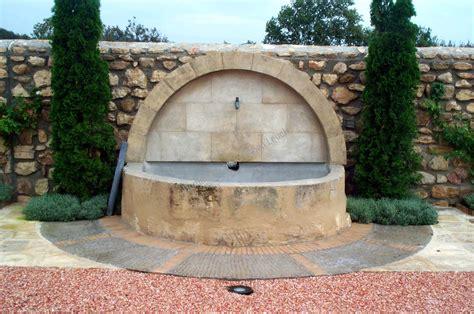 fontaine murale en de fontvieille r 233 alisations taille de pour architecte bouches