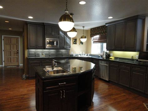 25 Traditional Dark Kitchen Cabinets ...... Kitchen Cabinet Kits Sale Refacing Doors Shabby Chic Best White For Cabinets Used San Diego Cheap Denver 1930 Style Two Color