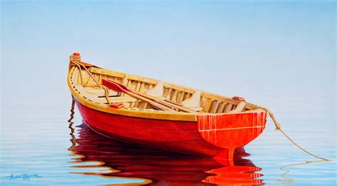 Red Boat Clipart by Red Boat Art And Curator