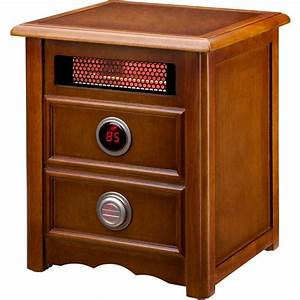 Dr Infrared Heater Nightstand 1500-Watt Infrared Portable ...
