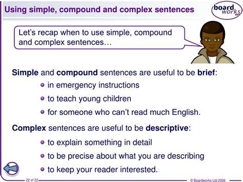 ppt complex sentences year 7 sentence starters