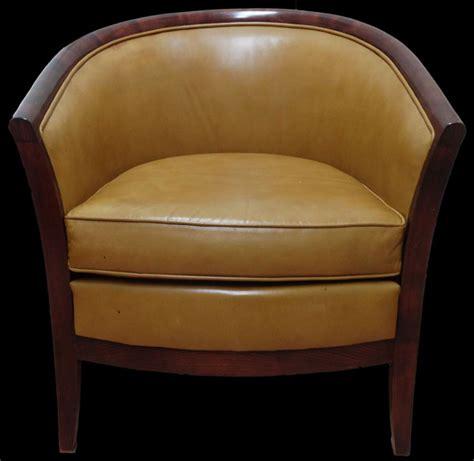 soldes fauteuil anglais davis en cuir vachette longfield 1880