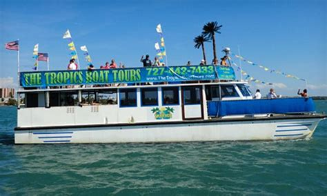 Party Boat Miami Groupon by The Tropics Boat Tours The Tropics Boat Tours Groupon