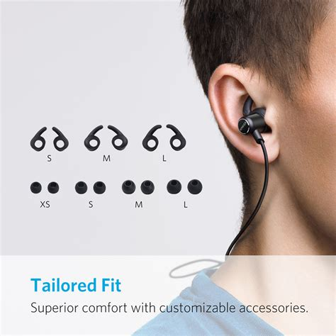 Anker Bluetooth Earphone by Anker Soundbuds Slim Bluetooth Headphone