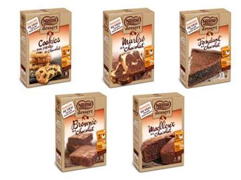 nestl 233 dessert revient sur les pr 233 parations pour g 226 teaux les produits lineaires le magazine