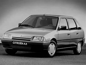 CITROEN AX 5 doors - 1991, 1992, 1993, 1994, 1995, 1996 ...