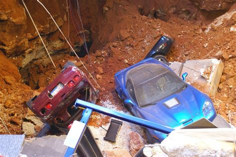national corvette museum releases of recovery efforts after sinkhole autonation