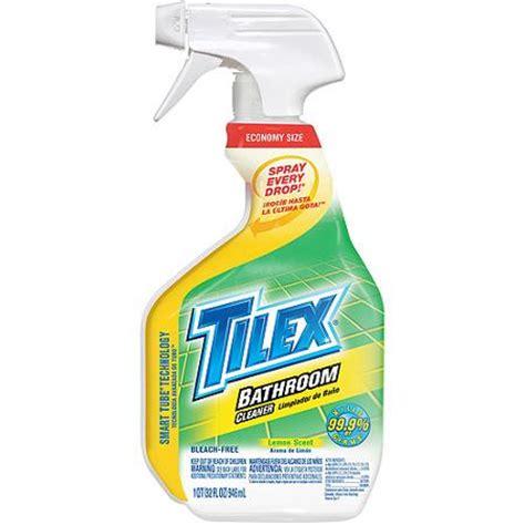 tilex bathroom cleaner spray lemon 32 fluid ounces walmart
