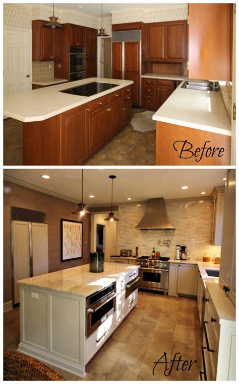 Before & After Kitchen Renovation  Guthmann Construction