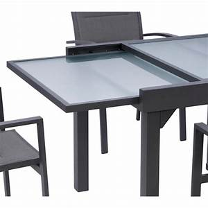 Table De Jardin Aluminium Et Verre. salon de jardin aluminium et ...