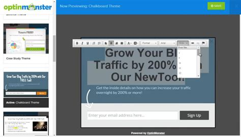 Thrive Templates Integrate With Aweber by Thrive Leads Vs Optinmonster Which Is Best To Use