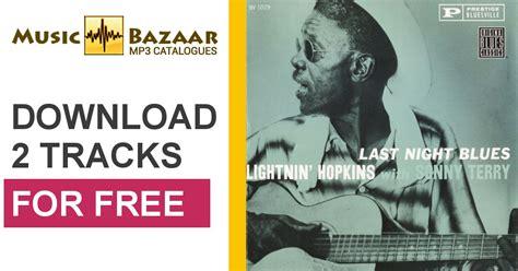 Lightnin' Hopkins Mp3 Buy, Full Tracklist
