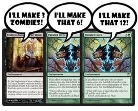 magic standard deck green zombies nurgleprobe