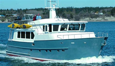 Living On A Boat Full Time Uk by Trawler Yacht 620 Trawlers Passagemakers Live Aboard