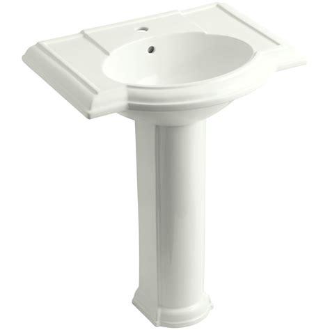 devonshire 27 quot pedestal bathroom sink with single faucet