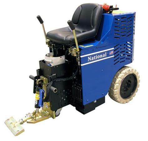 national 7600 ride on propane powered floor scraper