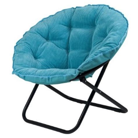 target daily deals wale corduroy dish chair in blue a buck