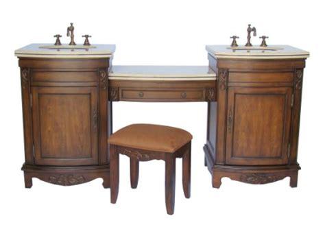 vanities 74 quot 4 pcs set bathroom sink vanity w dressing table model q331m 74