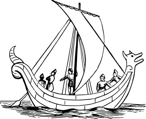 How To Draw A Old Boat by Boat Free Coloring Pages For Kids 12 Pics How To Draw