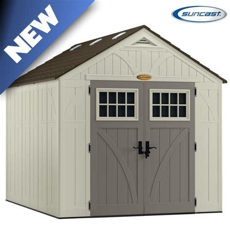 suncast bms8100 tremont 3 shed 8x10