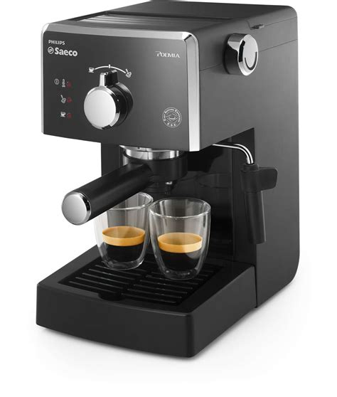 Poemia Cafeteira expresso manual HD8323/41   Saeco