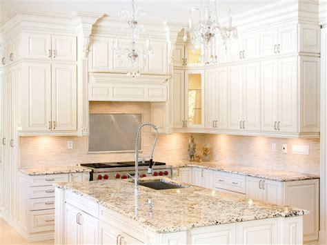 best inspiration white kitchen cabinets granite